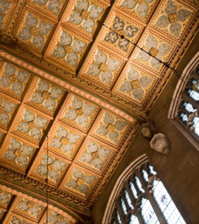Angel Hall ceiling