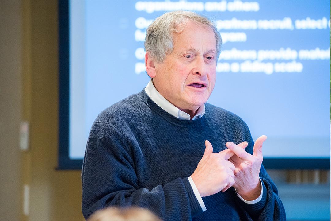 Dr. Barry Checkoway at PCC