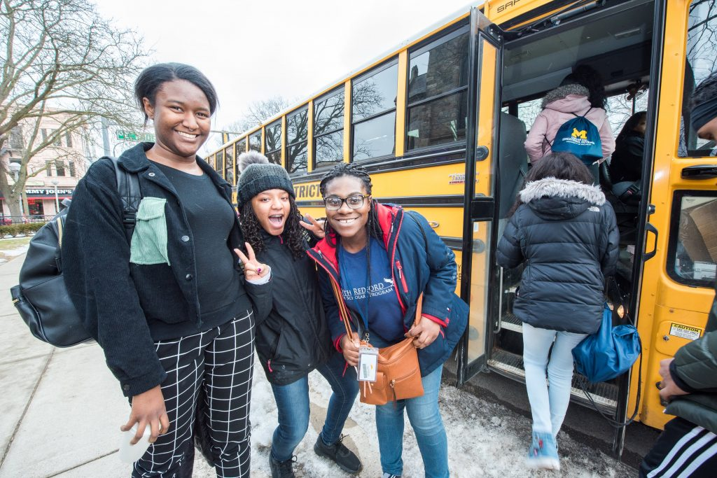 UMich's Center for Educational Outreach hosts South Redford Eagle Scholars Program at Trotter Multicultural Center on 1-31-2020