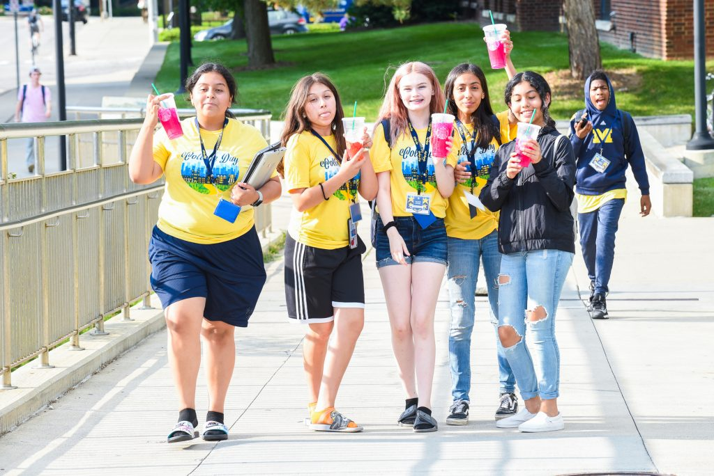 Center for Educational Outreach's College Day Middle School Program on UMich Campus--7-31-2019