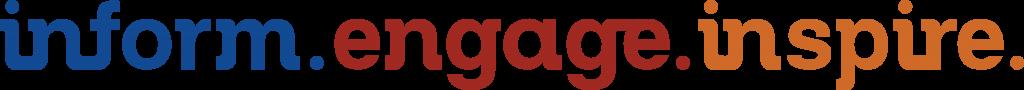 Inform, Engage, Inspire Logo