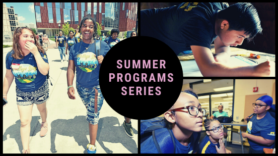 Summer Programs Series Collage